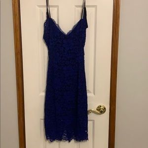 NBD Lace cut out dress